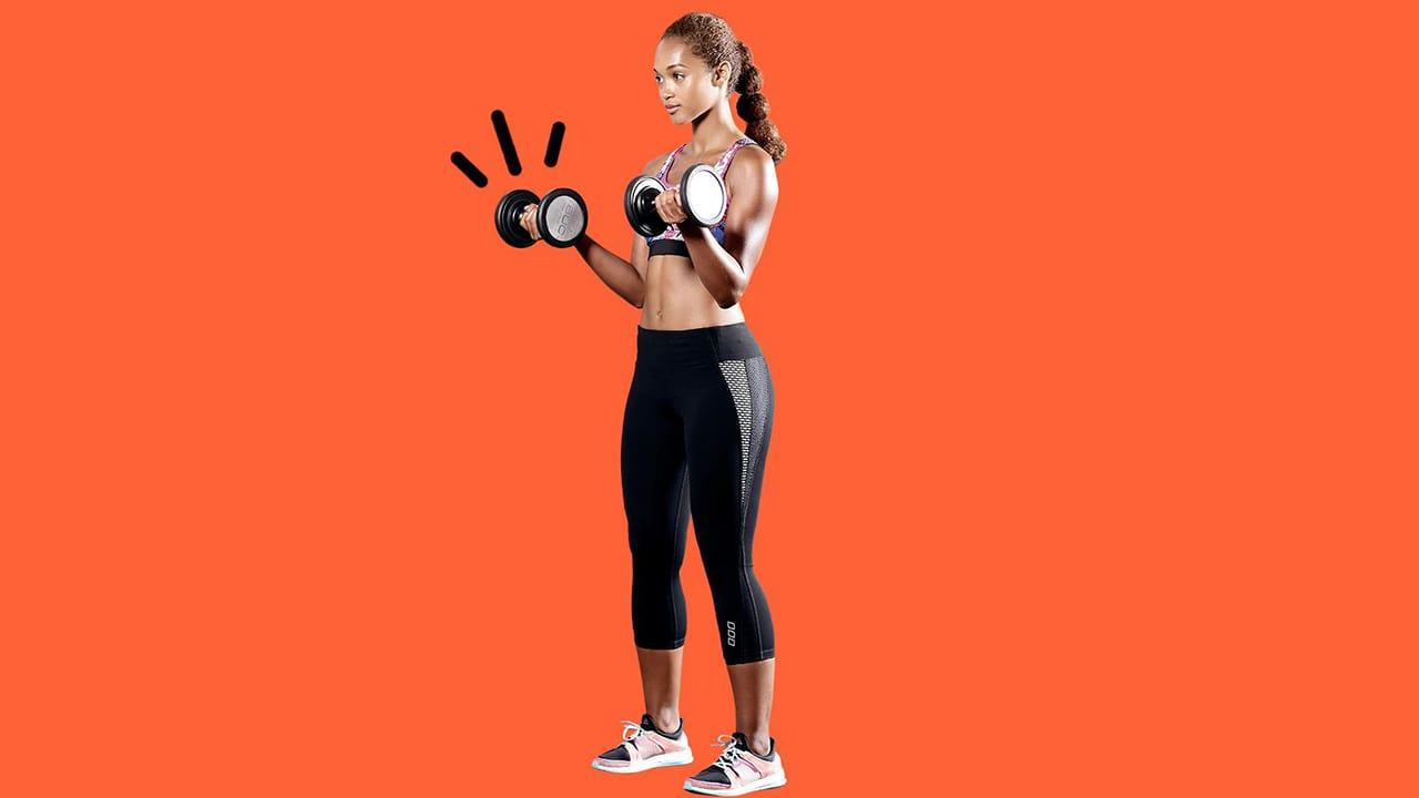 3-way biceps curl