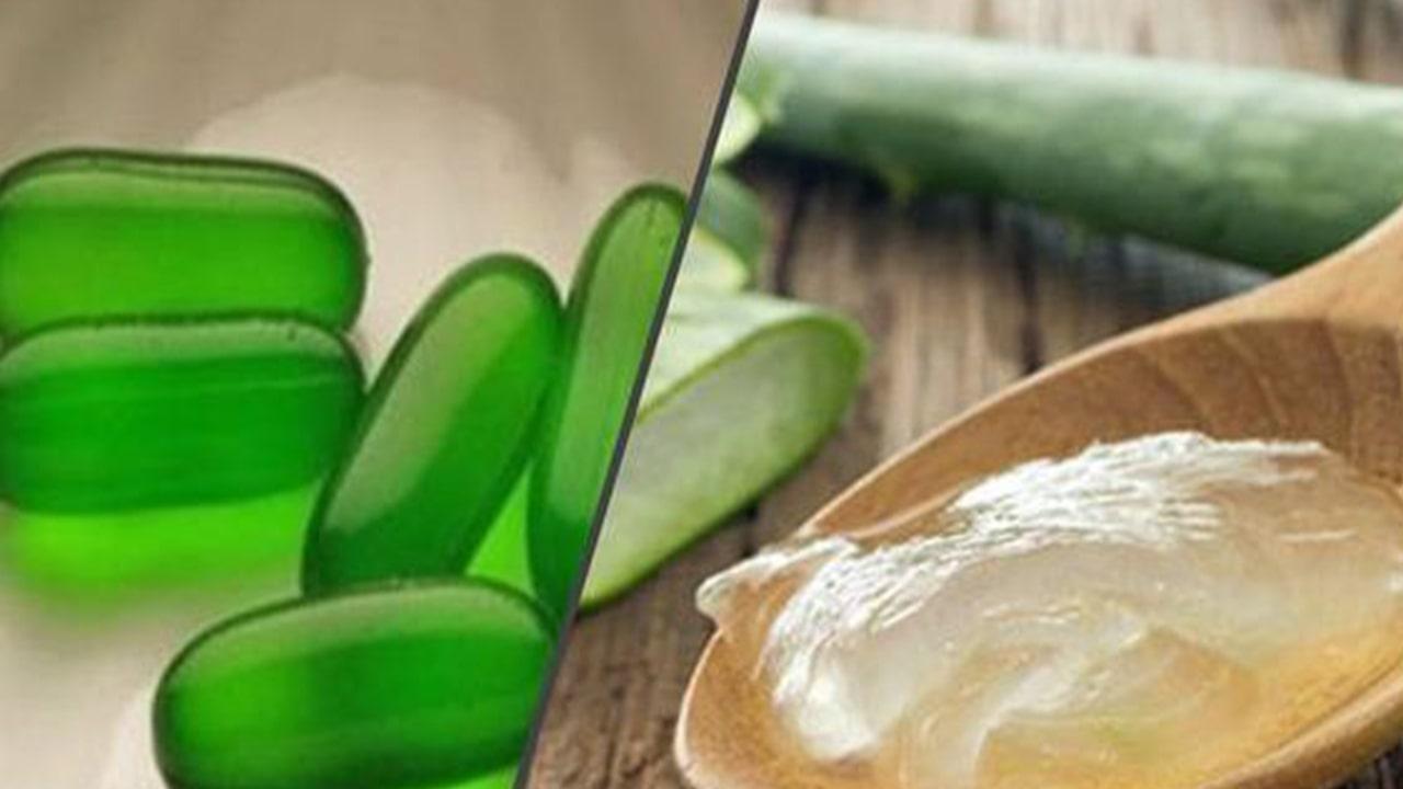 Aloe Vera and vitamin E