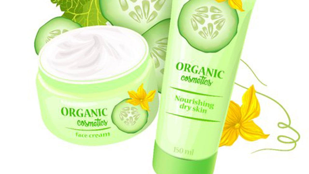 Body lotion by cucumber