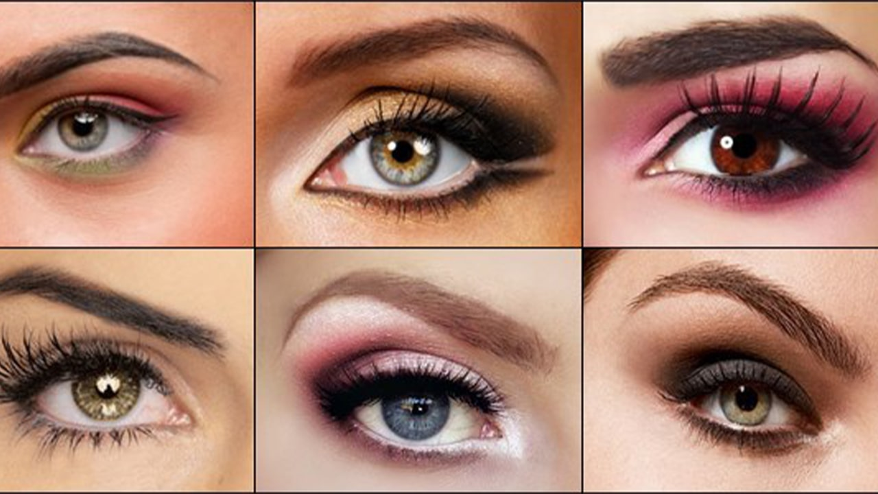 Different Eyebrow types