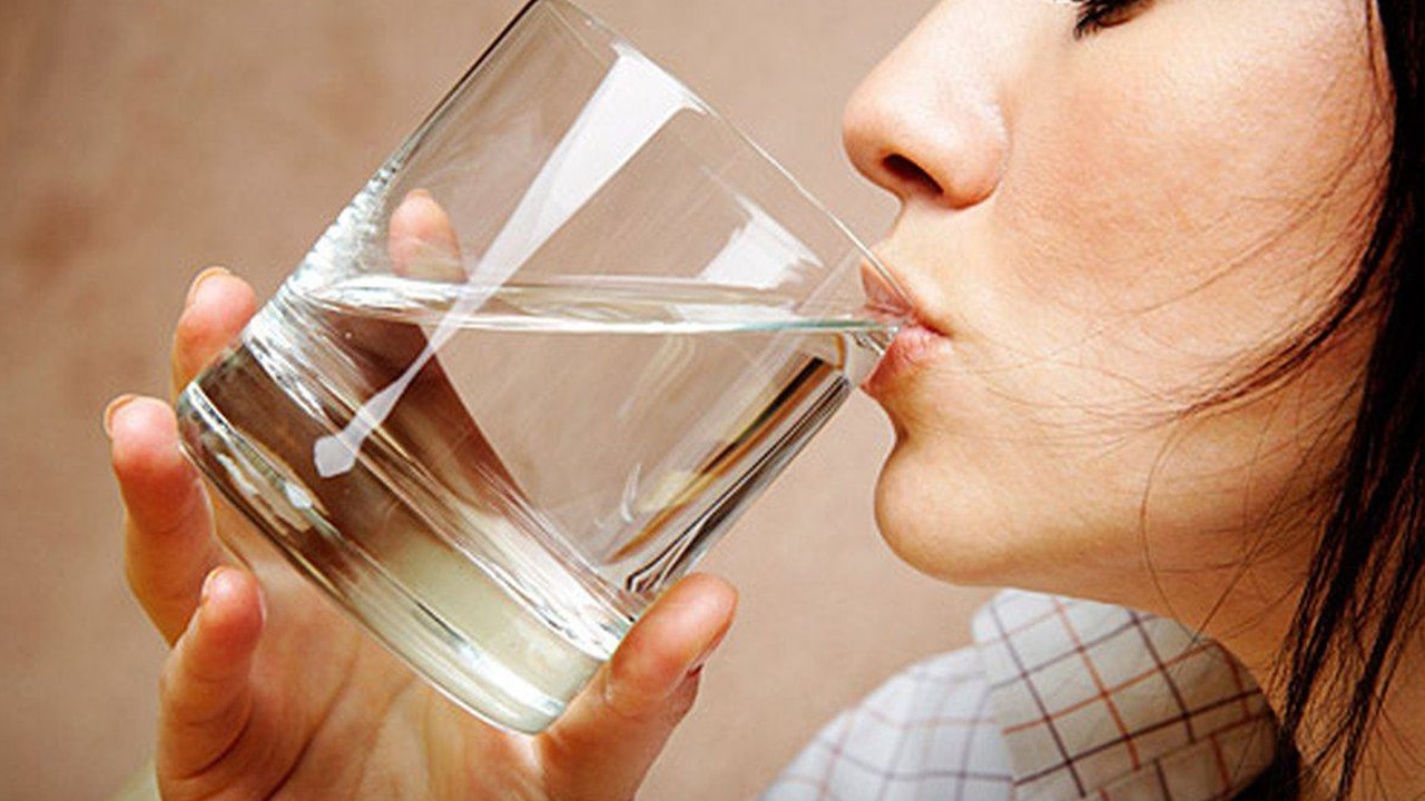 Drink a lot of water before each and every meal