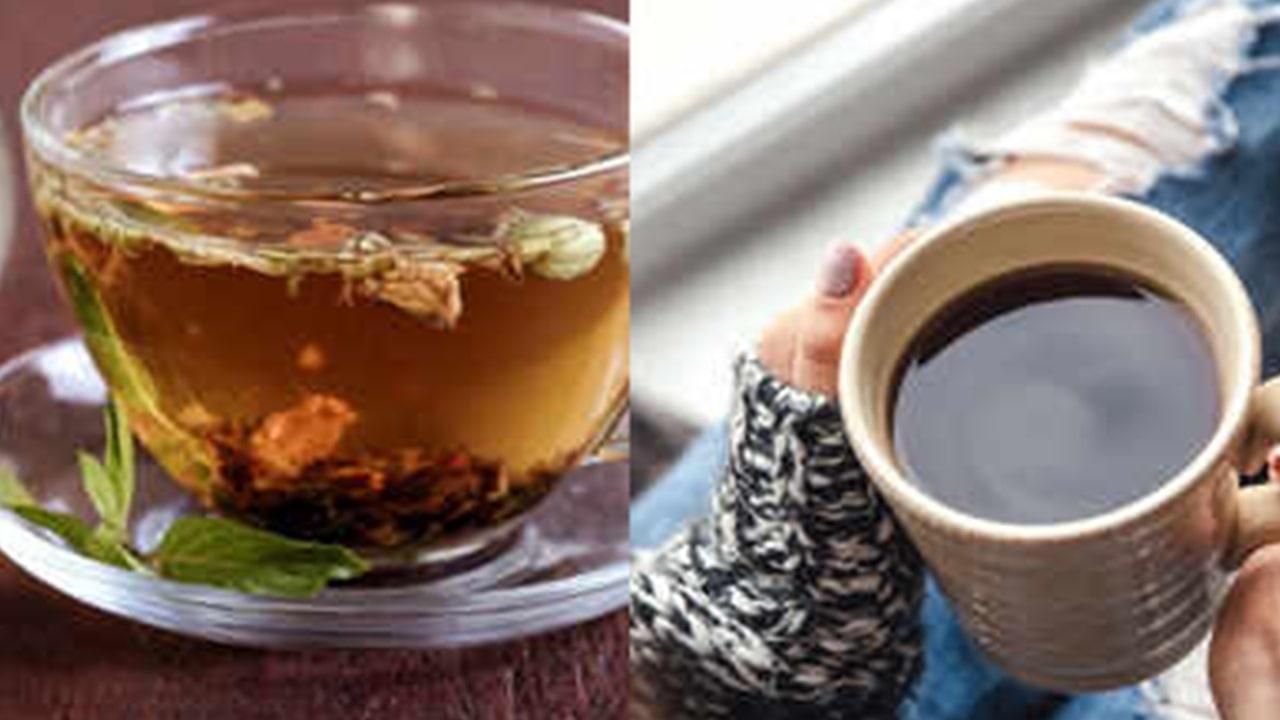 Use green tea as an alternative to the coffee