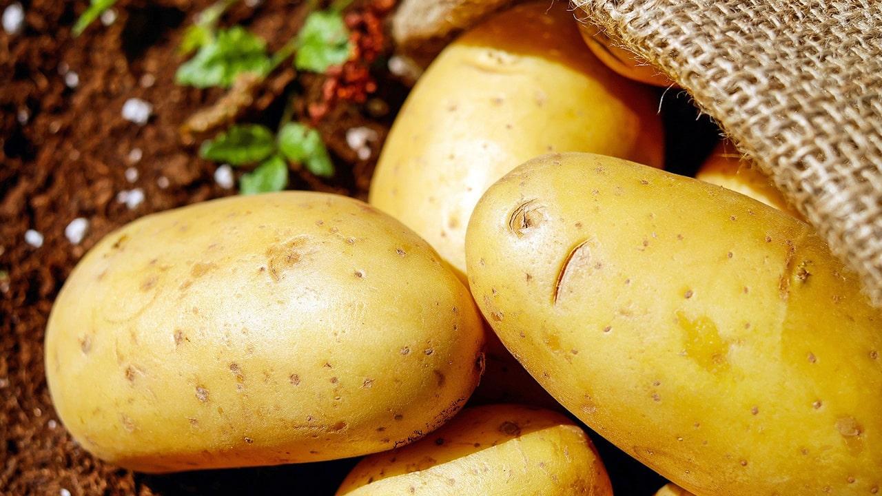 Using potatoes